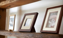 Custom Framing Services at Dallas Frame & Arts (Up to 58% Off). Two Options Available.