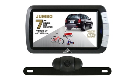 groupon daily deal - Peak 7-Inch Wireless Backup Camera