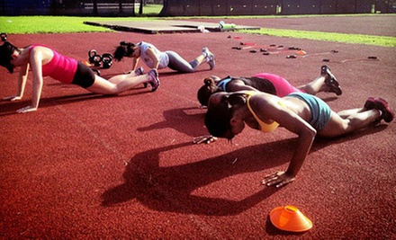 5 or 10 Boot-Camp Classes at Q4 Fitness Miami (Up to 54% Off)