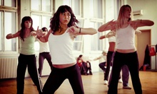 10 or 20 Zumba Classes at Full Out Dance (Up to 75% Off)