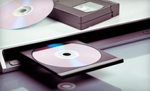2, 4, or 10 Video-to-DVD or Cassette-to-CD Transfers from National Conference Recording Service (Up to 64% Off)