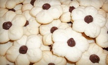 Three Dozen or Six Dozen Bite-Size Butter Cookies, or Brownie Tray at Delish-Delights by Salma (Up to 52% Off)