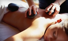 One or Two Hot-Stone Massages with Aromatherapy at The Massage Place (Up to 69% Off)