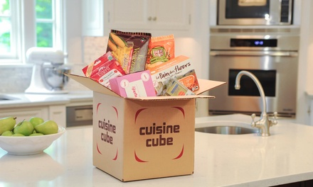 $19.99 for $29.99 Credit Toward Gluten-Free Subscription Service or Food Items from Cuisine Cube