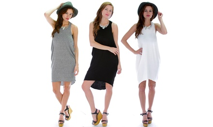 Lyss Loo Women's Whenever Wherever Tank Dress in Regular and Plus Sizes