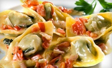 Italian Food for Lunch or Dinner at L'Allegria (Up to 53% Off). Five Options Available.