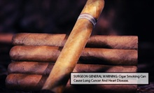 One-Month Cigar-Lounge Membership with Cigar Discounts for One or Two at La Casa Del Puro (Up to 54% Off)