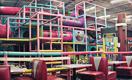 Super Deluxe Package with Unlimited Rides and 25 Tokens Per Person for Two or Four at FunTime America (Up to 61% Off)
