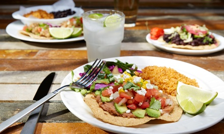 Authentic Mexican Food and Drinks at San Carlos Grill (Up to 43% Off). Two Options Available.