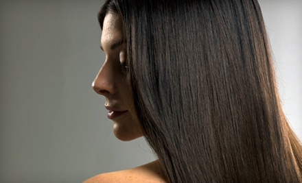 Haircut with Style and Optional Highlights, or Keratin Hair-Smoothing Treatment at XAR Hair Salon (Up to 64% Off)