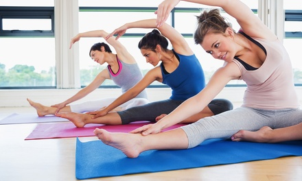 $59 for 10 Group Pilates or Yoga Classes at Yin Yang Pilates and Yoga ($140 Value)