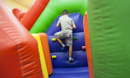 $25 for Four Groupons, Each Good for One Open-Jump Session at Pump 'n' Jump ($43.96 Total Value)