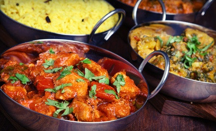 Dinner at India Palace (Half Off)