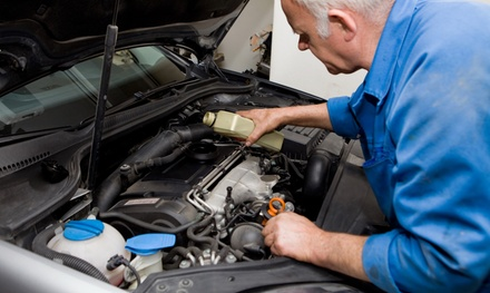 $29.99 for Car-Care Package with Oil Changes and Tire Service from San Francisco Car Care ($225.75 Value)