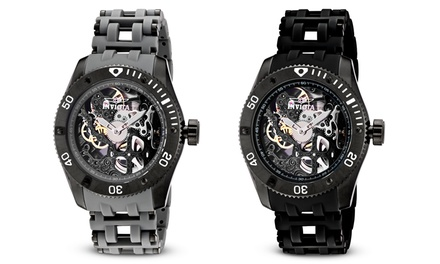 Invicta Men's Sea Spider Mechanical Skeleton Watches