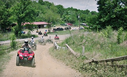 Two-Hour ATV Rental with Safety Gear for One or Two from Four Wheelin&#x27; Expeditions (Up to 51% Off)