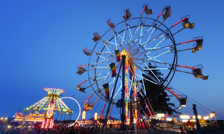 California State Fair Package with Monorail Rides and Savings Books for 2, 4, 6, 8, or 16 (Up to 40% Off)