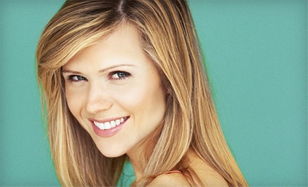 Haircut with Optional Partial Highlights at The Red Room Salon And Spa (Up to 73% Off)