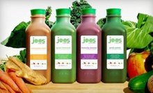 Three-, Five-, or Seven-Day Organic-Juice Cleanse from Joos (Up to 58% Off)