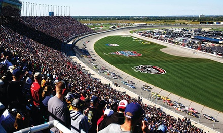1-Day NASCAR Race Package or Exclusive 3-Day Fantasy Camp Experience During Chase Weekend at Chicagoland Speedway (Up to 70% Off)