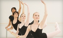 One Dance Class or Six Months of Weekly Dance Classes at The Ballet Center (Up to 90% Off)