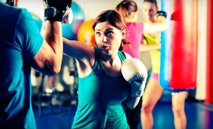 10 or 20 Cardio-Kickboxing Classes at Amerikick (Up to 89% Off)