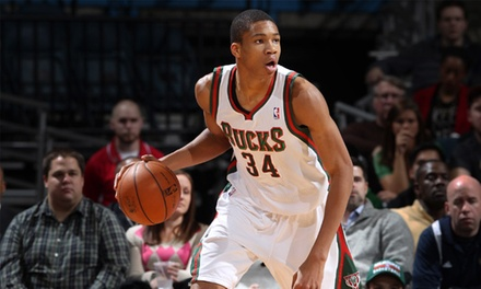 Milwaukee Bucks Game Plus a Poster Set at BMO Harris Bradley Center on November 25 (Up to 74% Off). 3 Seating Options.