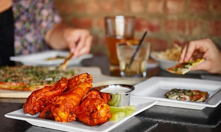Dine-In Pizza and Apps for Two or Four, or One or Two Pizzas and Wings for Carry-Out at Par 97 (Up to 44% Off)