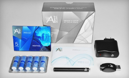 $20 for an Electronic-Cigarette Starter Kit from A1 Vapors ($39.99 Value)