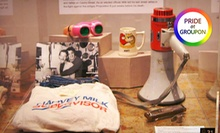 Admission for 2, 4, 6, or Up to 15 at The GLBT History Museum (Up to 52% Off)