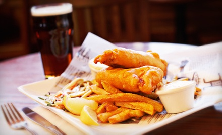 Beer Tasting for Two or Four with Appetizers or Full Dinner at Irish Republic Public House (Up to Half Off)