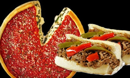 $10 for $20 Worth of Italian Beef, Pizza, and Comfort Food at Al's Beef & Nancy's Pizzeria in Chicago Heights