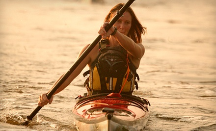 Five-Hour Sea-Kayaking Fundamentals Class for One or Two from Potomac Paddlesports (Up to 58% Off)
