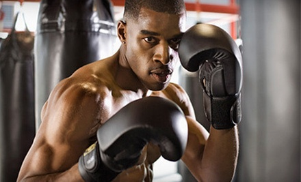 $35 for a One Month Boxing Membership with Unlimited Classes at Mueller's Elite Athletic Training ($99 Value)