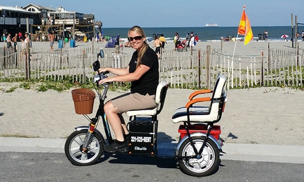 Two- or Four-Hour Rental of a Three-Wheeled Electric Scooter from Trikaroo (50% Off)