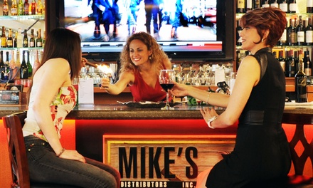 Premium Cigars and Drinks for Two or Four or $20 for $40 Worth of Cigars at Mike's Cigar Bar
