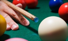 Two Hours of Billiards with Drinks for Two or Four at VIP Billiards (Up to 55% Off)