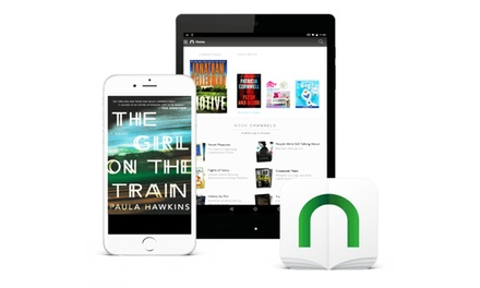 $6 for $10 Worth of eBooks, Newspapers, Magazines, and Comics from NOOK by Barnes & Noble