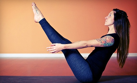 10 or 20 Classes at Yoga Eight (Up to 71% Off)