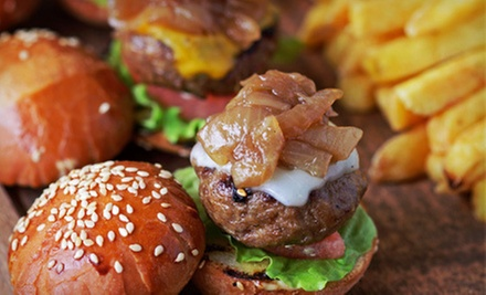Sampler Platters, Sliders, and Beer for Up to Four at The Bridge Tavern (Up to 52% Off)