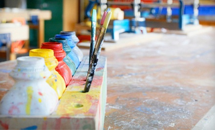 BYOB Painting Class for Two, Four, or Six at Draw It Out Art Therapy (Up to 65% Off)