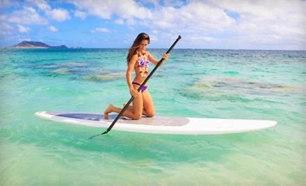 One or Two Full-Day Standup Paddleboard or Kayak Rentals from Paddle Planet (Up to 53% Off)