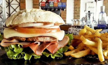 LightHouse — Parque das Nações: menu para 2 ou 4 pessoas com hambúrgueres, batatas fritas e bebidas desde 12,90€