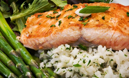 Mediterranean-Inspired Dinner for Two, Four, or Six at The Farmer's Table (Up to Half Off)