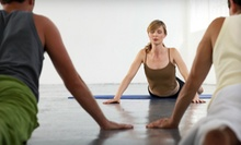 10 or 20 Yoga, Pilates, or Boxing Fusion Classes at Yoga& (Up to 61% Off)
