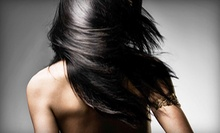 One or Two Keratin Hair-Smoothing Treatments from Gigi Schools at Salon Lofts (Up to 70% Off)