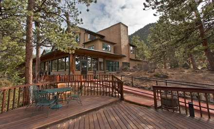 2-Night Stay for Up to Four in a Studio or One-Bedroom Unit with Wine at The Historic Crags Lodge in Estes Park, CO