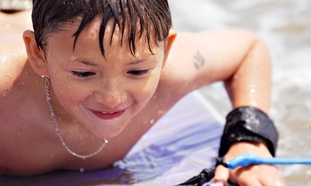 One- or Two-Day Introductory Surfing Lesson for One Child at Summer of Surf (Up to 61% Off)
