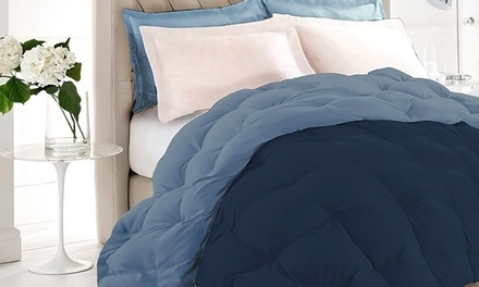 Marimac Box Quilted Reversible Feather Duvet