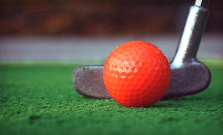 36 Holes of Mini Golf and Concessions Credit for Two or Four at Bama Mini Golf (Up to 53% Off)